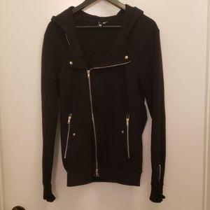 H&M biker hoodie medium
